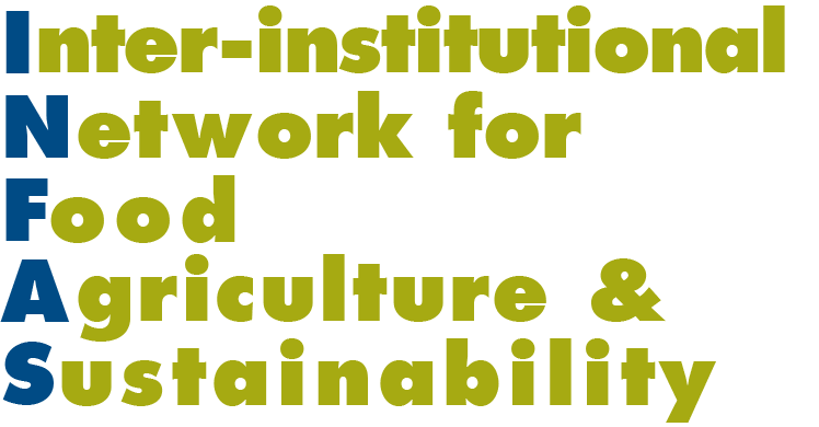 Inter-institutional Network for Food Agriculture & Sustainability Logo